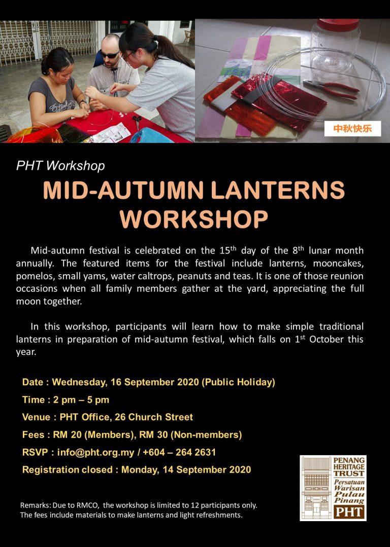 Mid-Autumn Lanterns Workshop